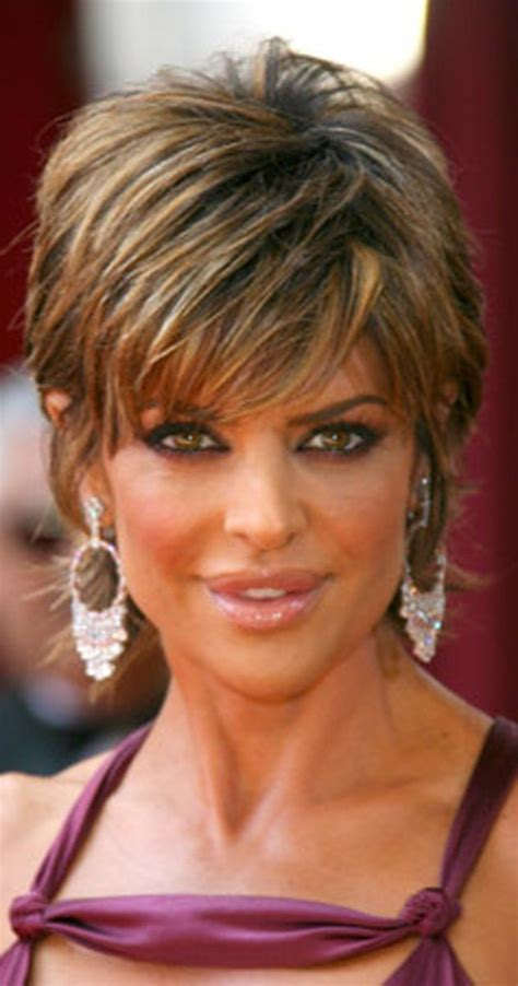lisa rinna hair products 22 best short hair images on pinterest coiffures courtes