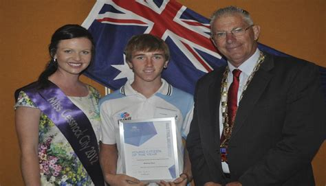 Rees Reveling As Miss City by Gallery Cessnock S Australia Day Ceremony The