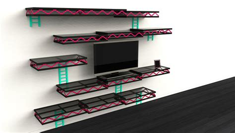 office gaming room with wall to wall shelving and couch donkey kong wall awesome sh t you can buy
