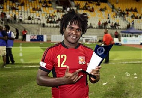 alwin felix png mens football team prepares for world cup papua new