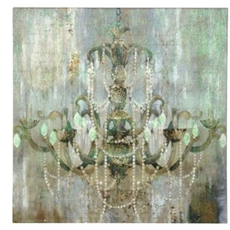 chandelier canvas jeweled chandelier canvas print polyvore