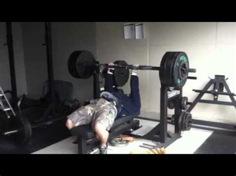 jim wendler bench press jim wendler 300lb bench press post surgery youtube