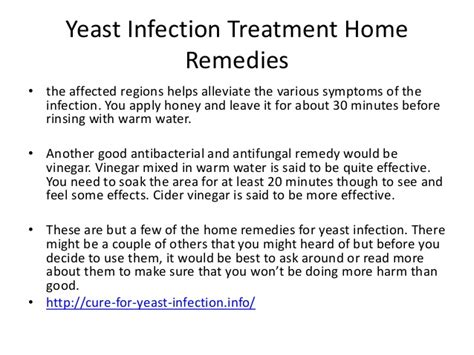 yeast infection treatment home remedies yeast infection