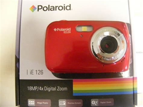 new polaroid for sale new polaroid ie126 compact digital for sale in