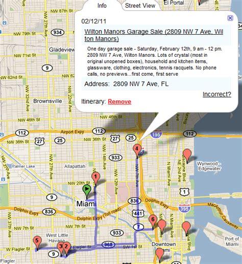 Garage Sale Treasure Map yard sale treasure map