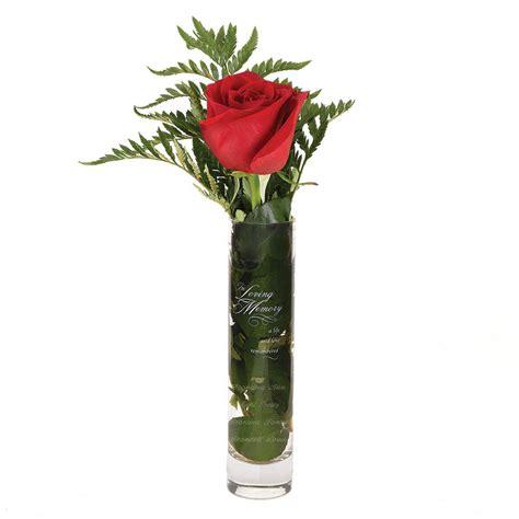 Memory Vase by In Loving Memory Bud Vase Invitations By