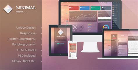 30 bootstrap admin dashboard templates free download