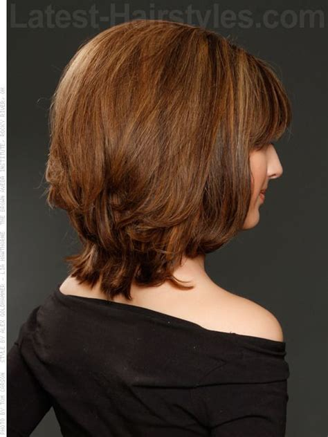 out grow a bob hair style and layer lightly layered bob shoulder length cut tapered back