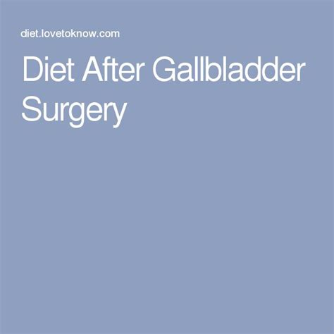 Detox Diet Before Surgery by 1000 Ideas About Gallbladder Surgery On