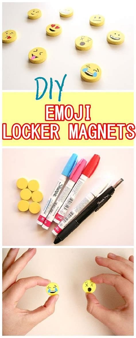 diy locker projects locker magnets lockers and diy back to school on