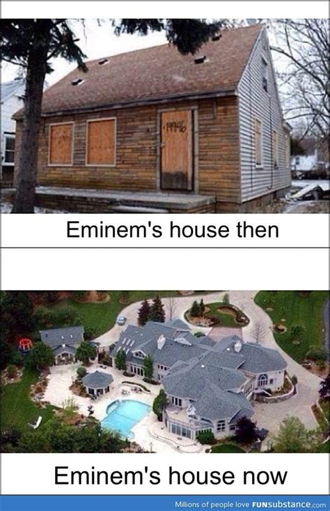 House Now by Eminems House Then And Now Funsubstance