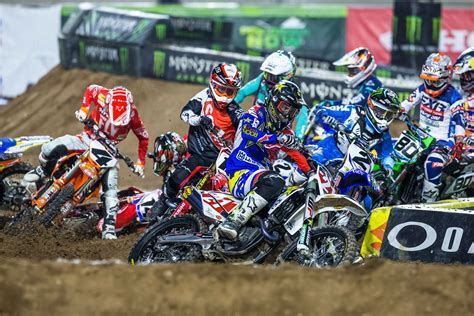 motocross race results complete race results for the 2018 arlington supercross