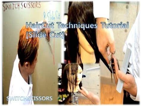 blunt cut o techniques wiki haircut techniquestechniques tutorial slide cut