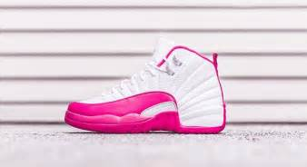 12 valentine day air jordan 12 gs white dynamic pink release date sneaker