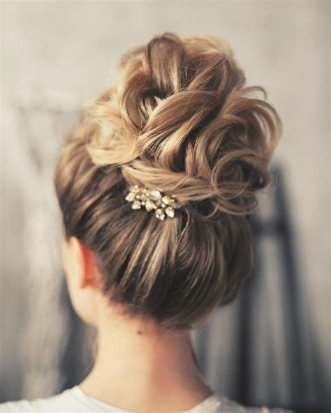 Wedding Day Hairstyles by 17 Best Ideas About Wedding Updo On Prom Hair