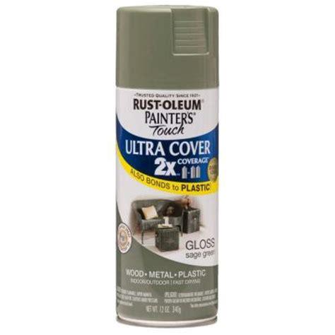 home depot spray paint green rust oleum painter s touch 2x 12 oz gloss green