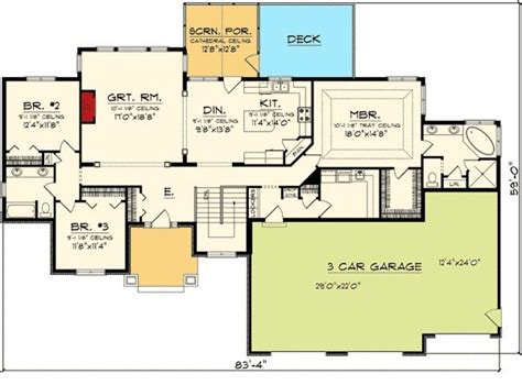 luxury 3 car garage ranch house plans new home plans design 3 car garage ranch house plans luxury chic design 3 car