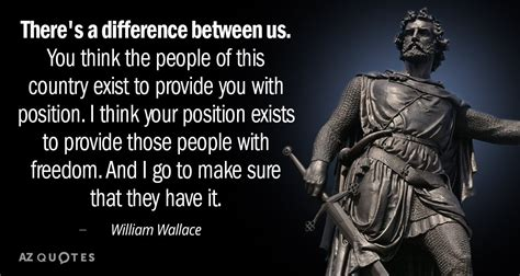 william wallace quote   difference      people