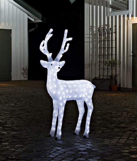 led outdoor reindeer large outdoor led reindeer