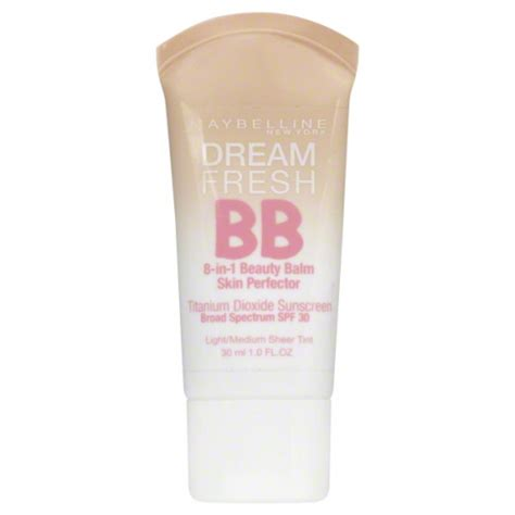 Maybelline Fresh Bb maybelline fresh bb skin perfector light medium