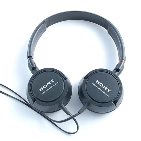 Headset Sony Mdr Zx100 sony mdr zx100 stereo headphones black mdr zx100 blk ebay