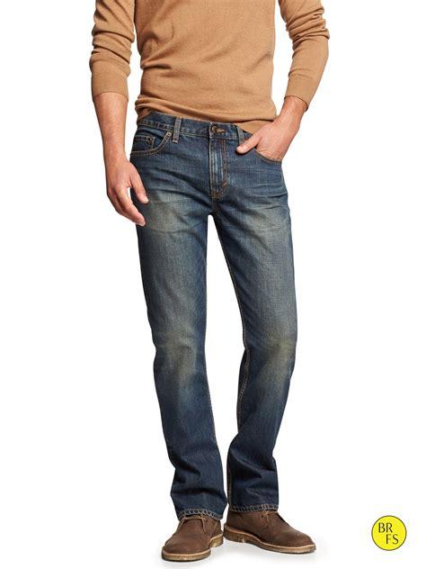 boot cut mens banana republic factory boot cut jean in blue for