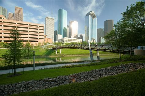 houston parks more evidence that parks green spaces and physical are for business