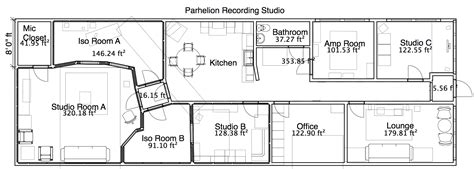 music studio layout studio layout parhelion recording studio atlanta