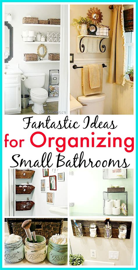 organizing bathroom ideas 11 fantastic small bathroom organizing ideas a cultivated