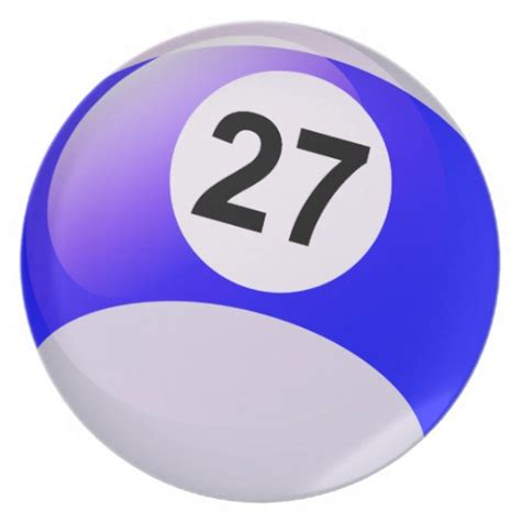 Latest Kitchen Designs by Number 27 Billiards Ball Plate Zazzle