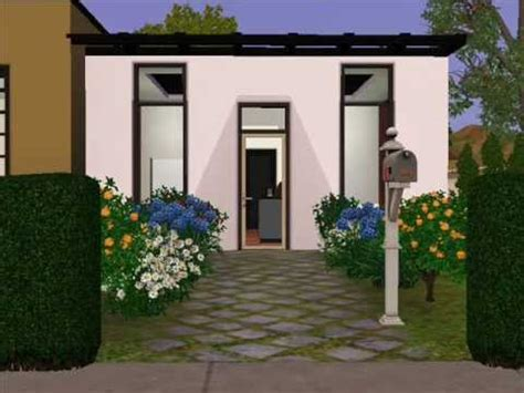 Small Split Level House Plans the sims 3 design ultra modern small house youtube