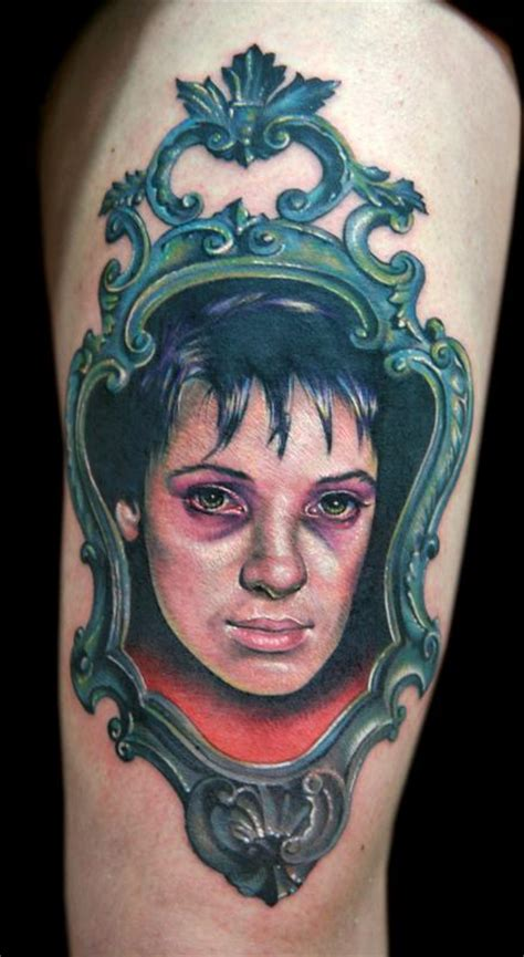 lydia tattoo cecil porter illustration tattoos realistic lydia deetz