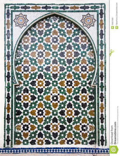 Traditional Bathroom Floor Tile arab mosaic stock photo image of islamic mosque pattern