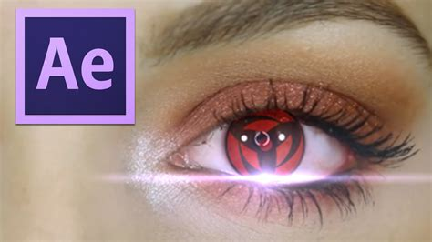 tutorial after effect naruto after effects tutorials sharingan eye effect