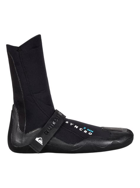 surf boots quiksilver 3mm syncro surf boots eqyww03009 ebay