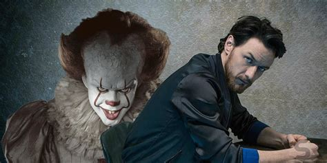 james mcavoy it james mcavoy confirms it chapter 2 has started production