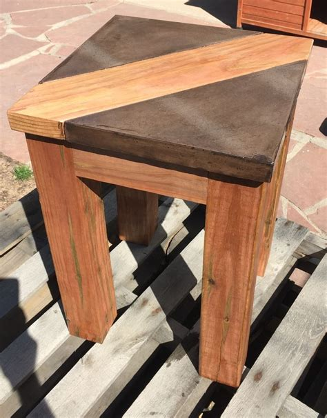 table top designs walnut brown concrete table top with wood inlay table top