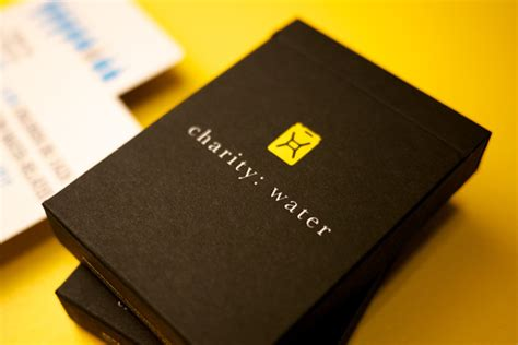 Charity Water Gift Card - charity water playing cards 三光堂
