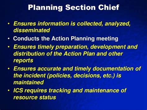 nims planning section sems nims ics 2012 2