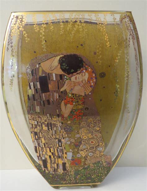 Gustav Klimt Vase by Goebel Glass Vase Gustav Klimt Collectors Weekly