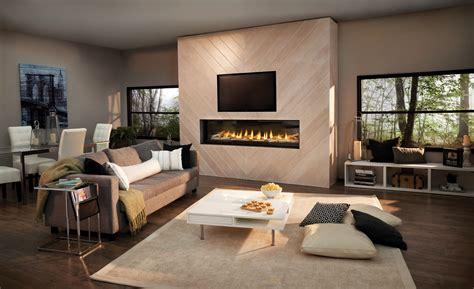 napoleon luxuria series  linear gas fireplace