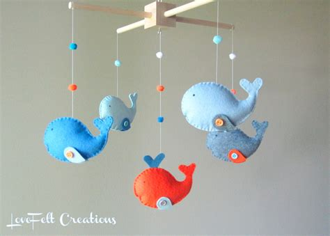 baby mobiles for crib baby crib mobile custom baby mobile whale mobile zoology