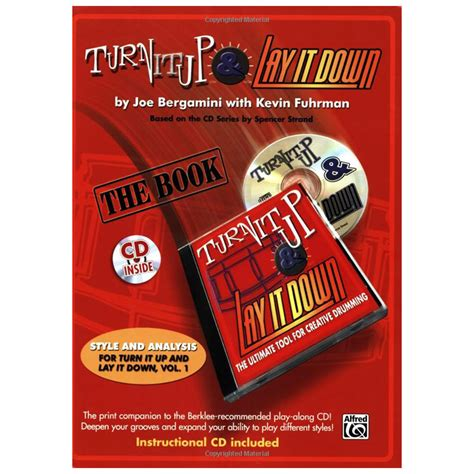 turn it up books turn it up lay it by joe bergamini kevin fuhrman