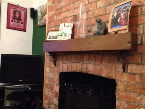Railway Sleeper Surround by Fireplace Surround With New Oak Railway Sleeper