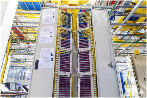 Inter Rack Cabling by Interconnect Technologies For Data Centers Electronics Maker