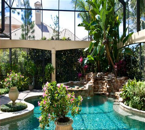florida landscaping ideas backyard pool landscaping ideas florida house trend design