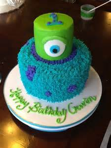monsters inc cake for 1st bday cakes i have made pinterest monster inc cakes monsters inc