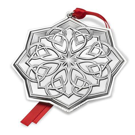towle ornaments celtic knot ornament 2017 towle silver