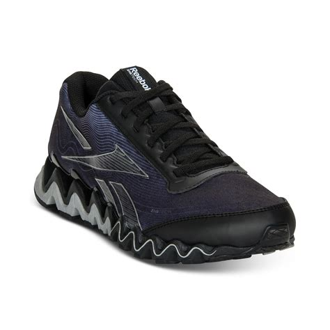 reebok sneakers for reebok zig ultra sneakers in black for black rivet