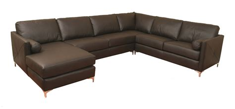 burbank leather sectional